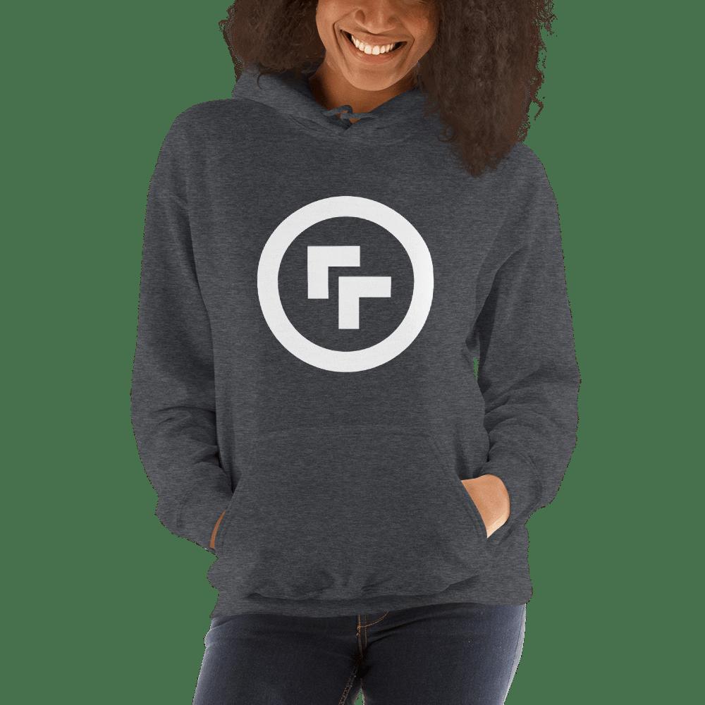 Image of Long Sleeve Logo Sweatshirt from Printful