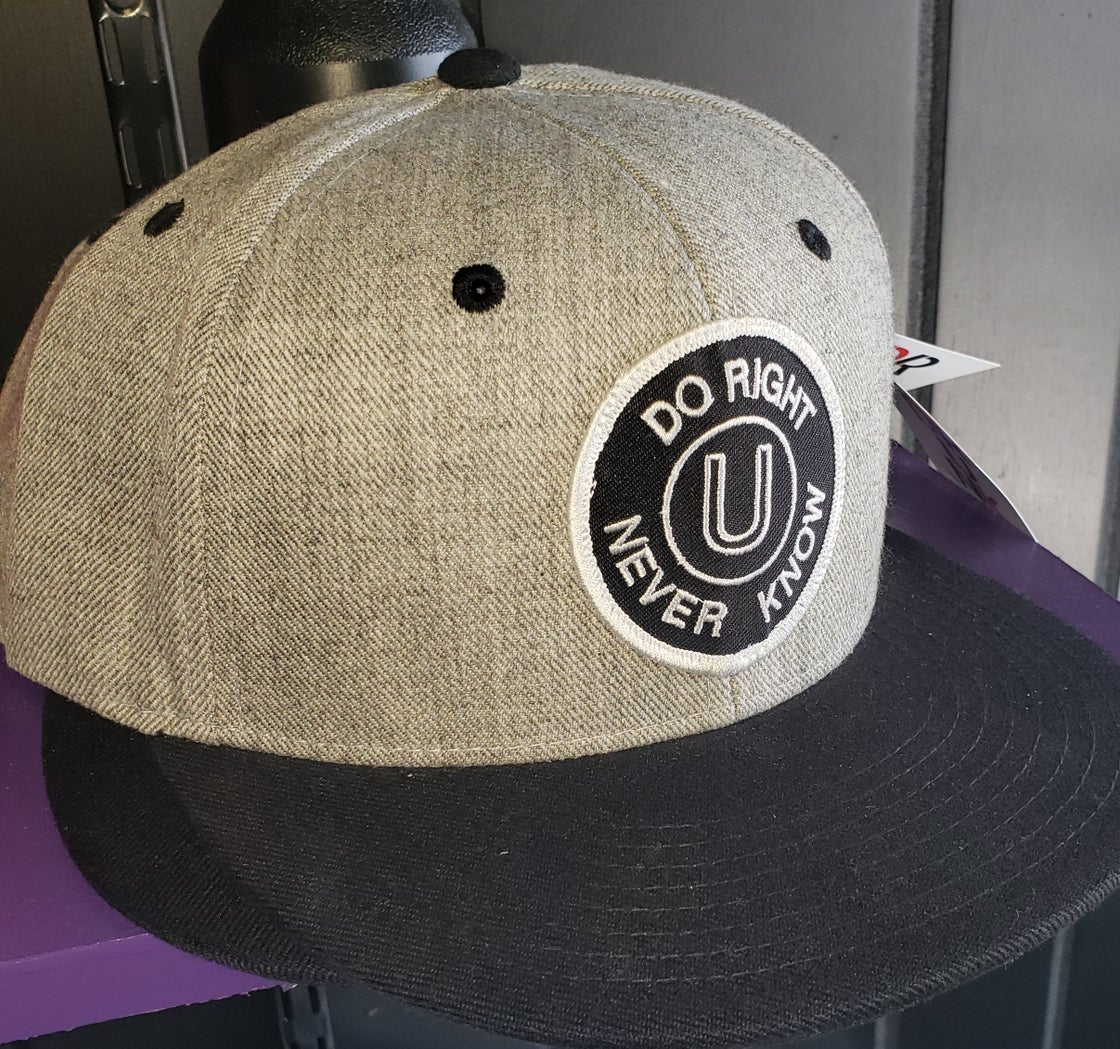 Image of Do Right U Never Know Patch Snap Back