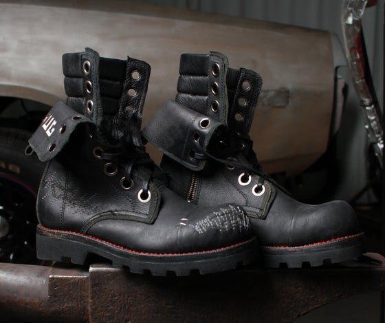 Image of Junker Steel Toe Boots