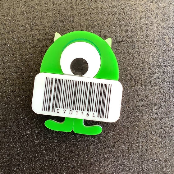 Image of Barcode Mike - Limited
