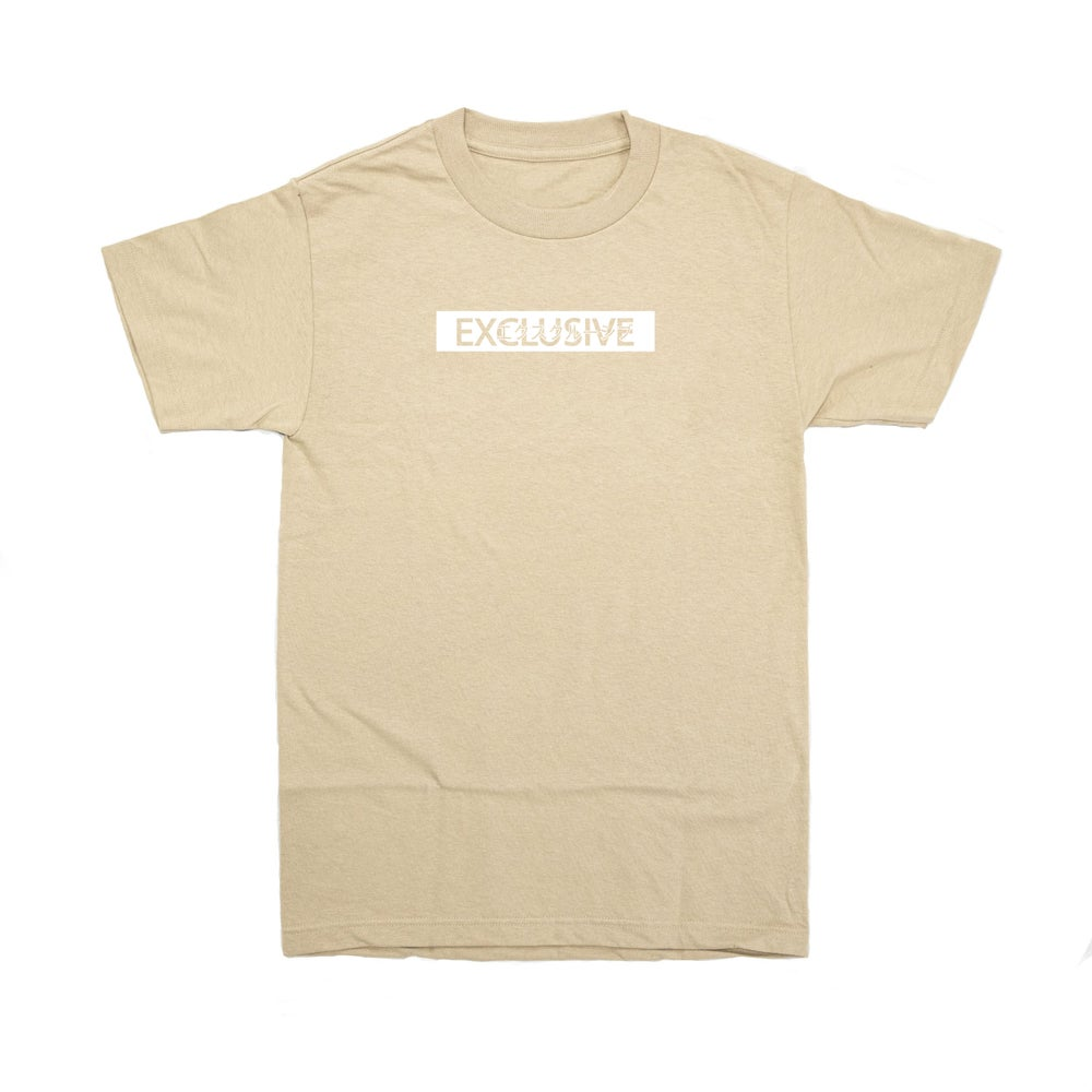 Image of EXCLUSIVE TEE - Sandstorm