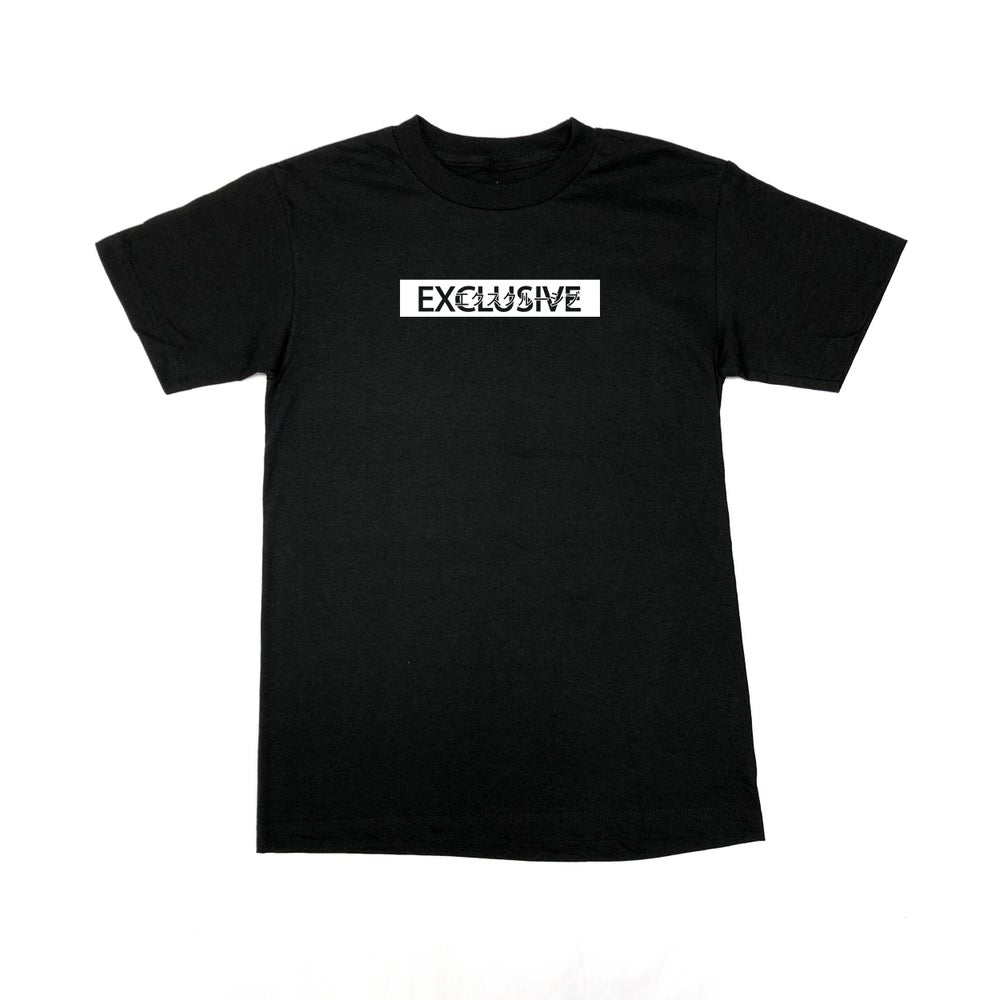 Image of EXCLUSIVE TEE - Black