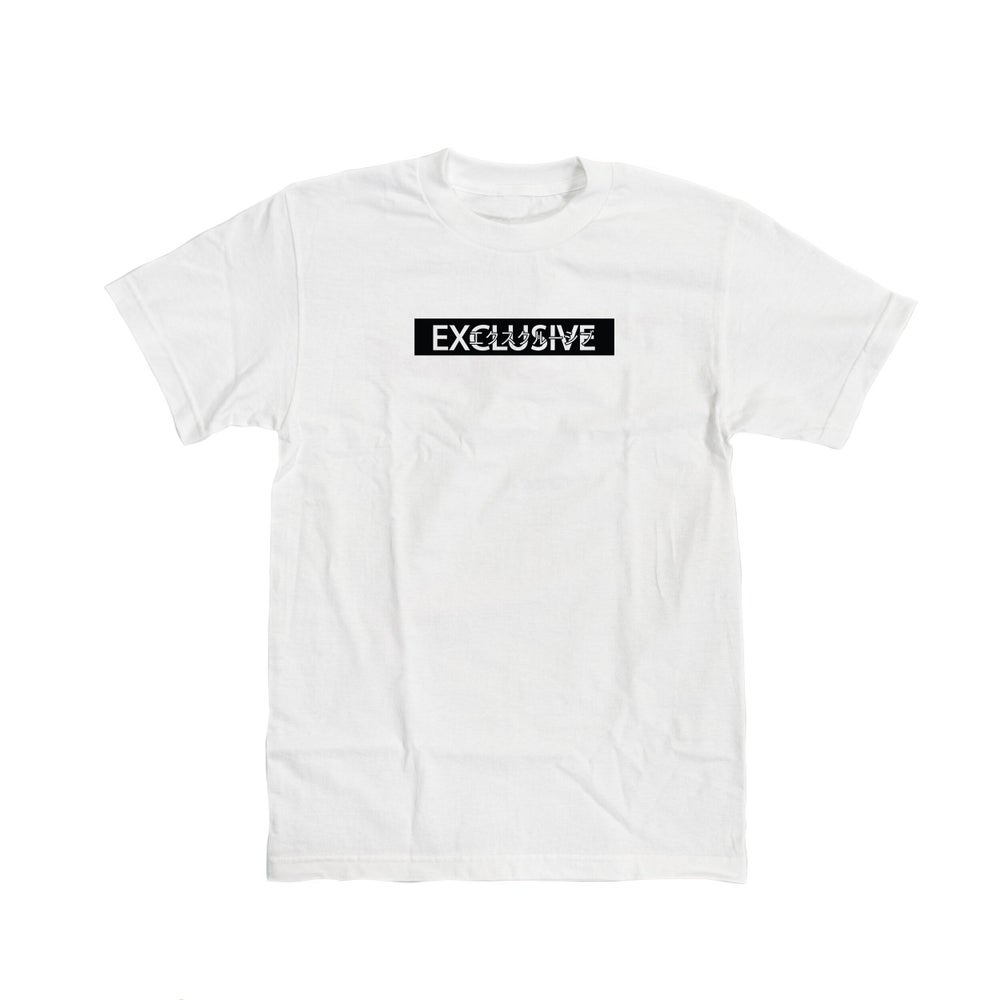 Image of EXCLUSIVE TEE - White