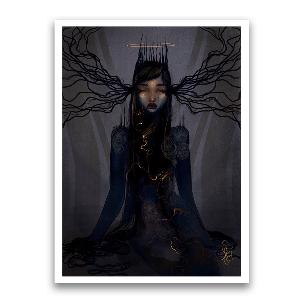 Image of Light within the darkness print