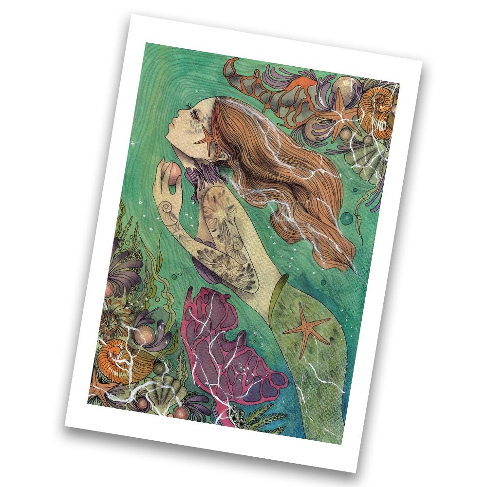 Image of Little mermaid  print