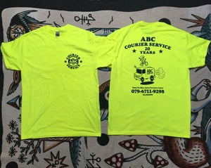 Image of ABC COURIERS 20th ANNIVERSARY TEE