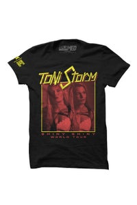 Image of SPLX x Toni Storm Shiny Shiny Tour T-Shirt