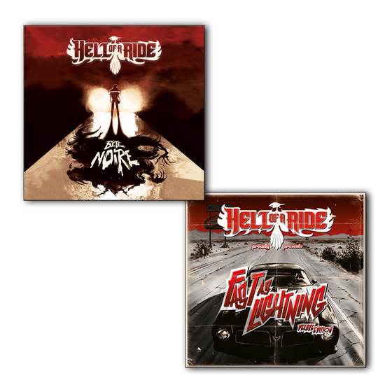"Image of EP ""Fast as lightning"" + ALBUM ""Bête Noire"""