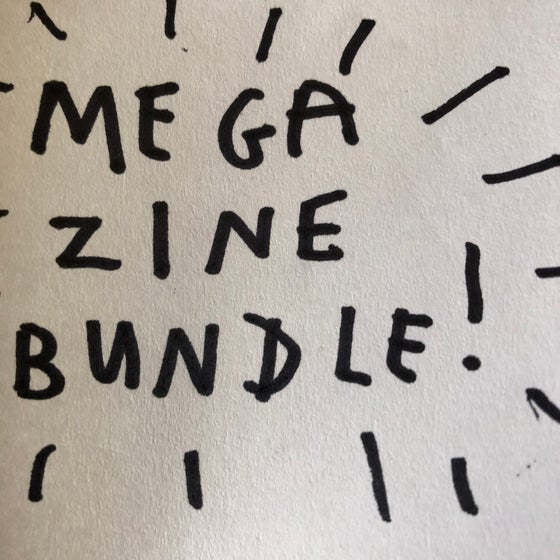 Image of MEGA ZINE BUNDLE (3 zines)