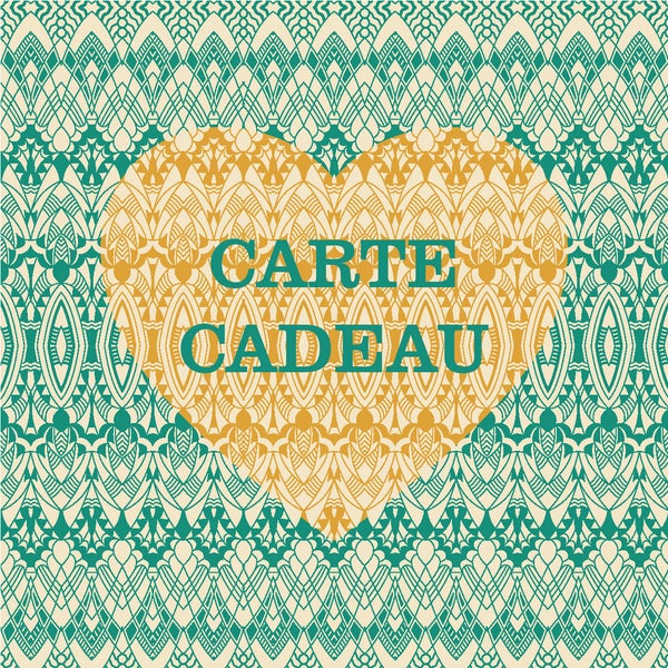 Image of >CARTE CADEAU<