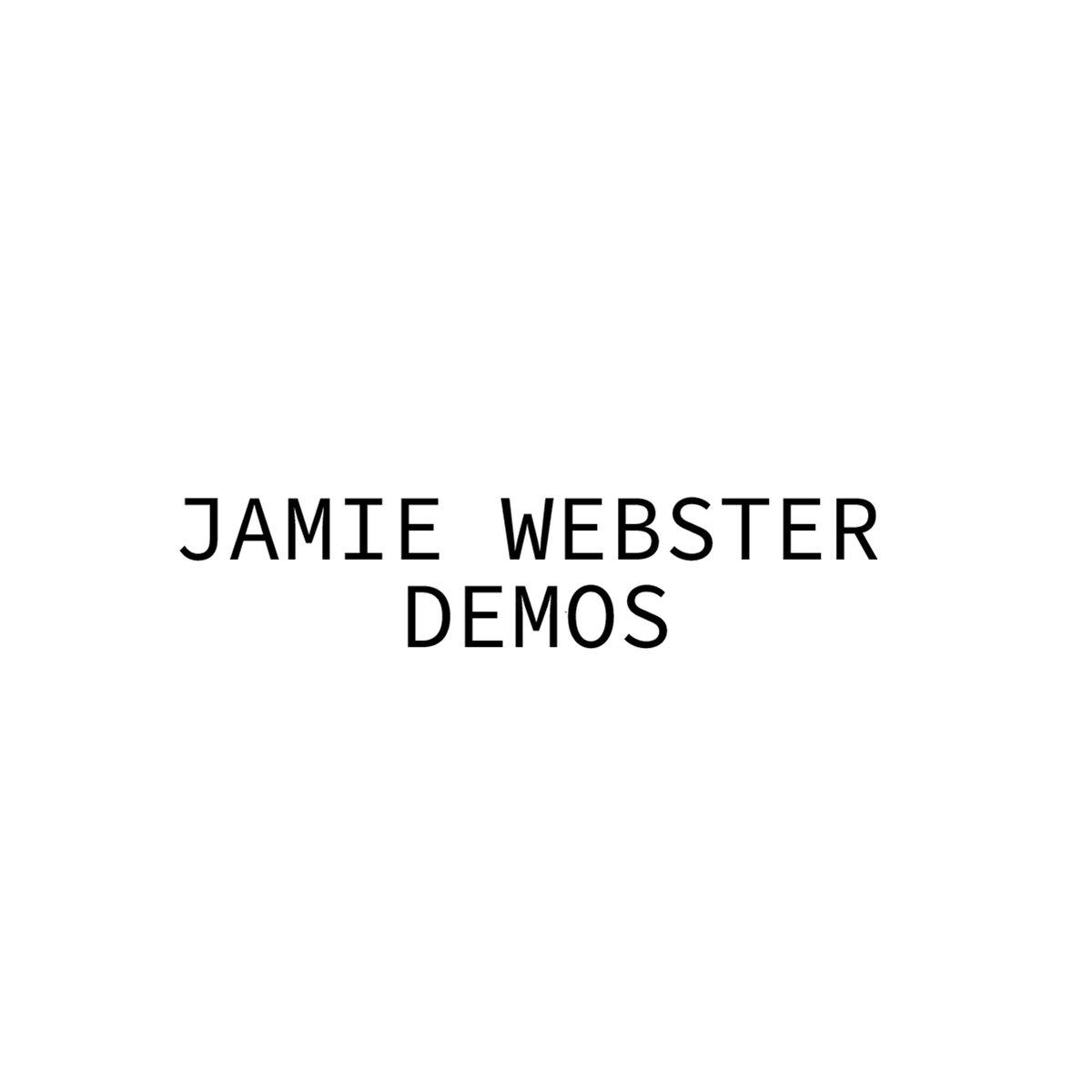 Image of Jamie Webster Demo CD