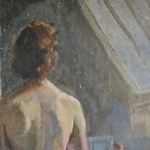 Image of 'Standing Nude,' Philippa Maynard Romer (1929-2010)