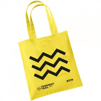 Image of TENEMENT TRAIL YELLOW TOTE BAG