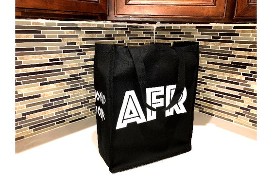 "Image of World Tour ""AFRICA"" Tote Bag Black"