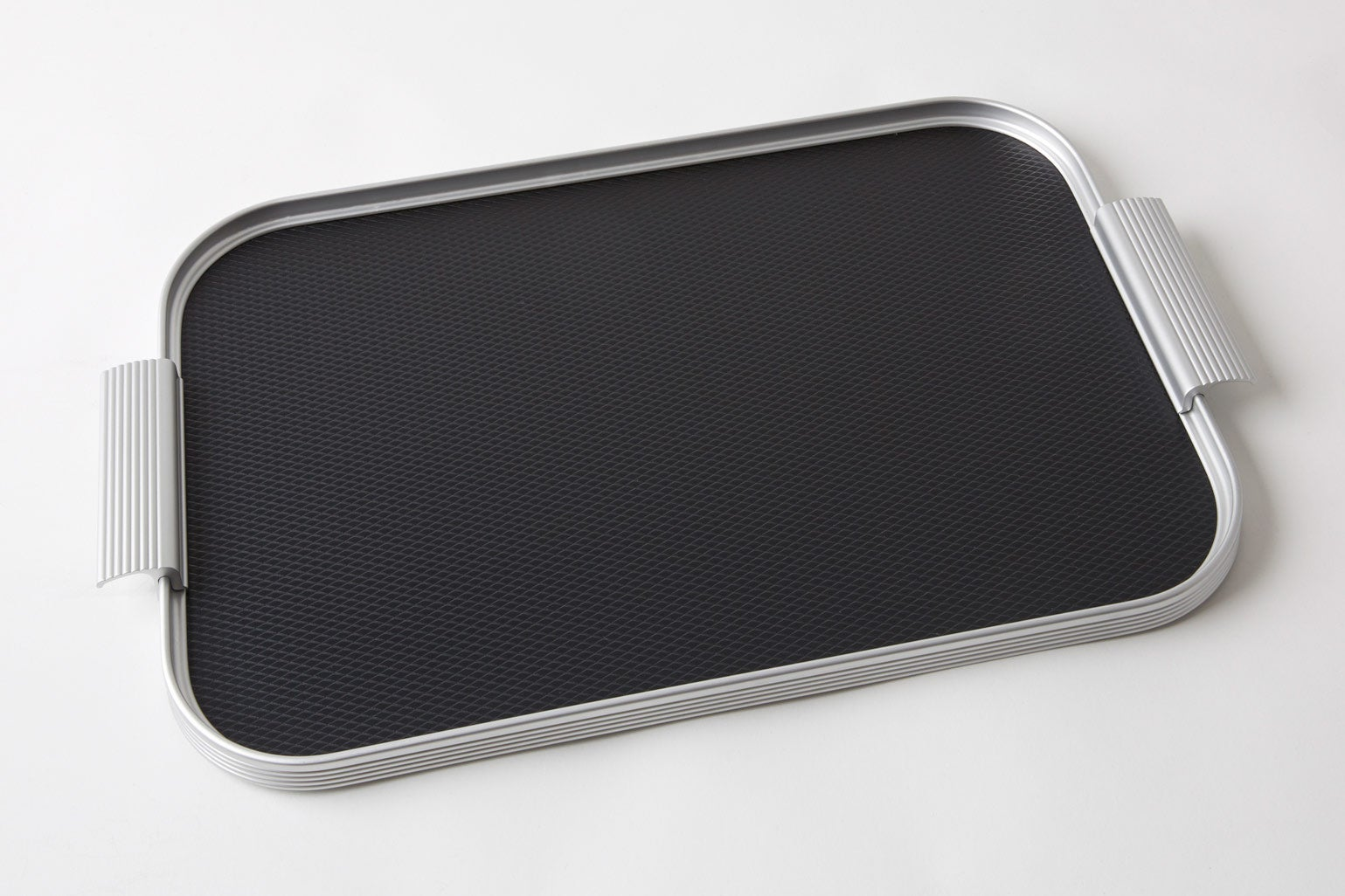 Image of Kaymet Tray Black/Silver