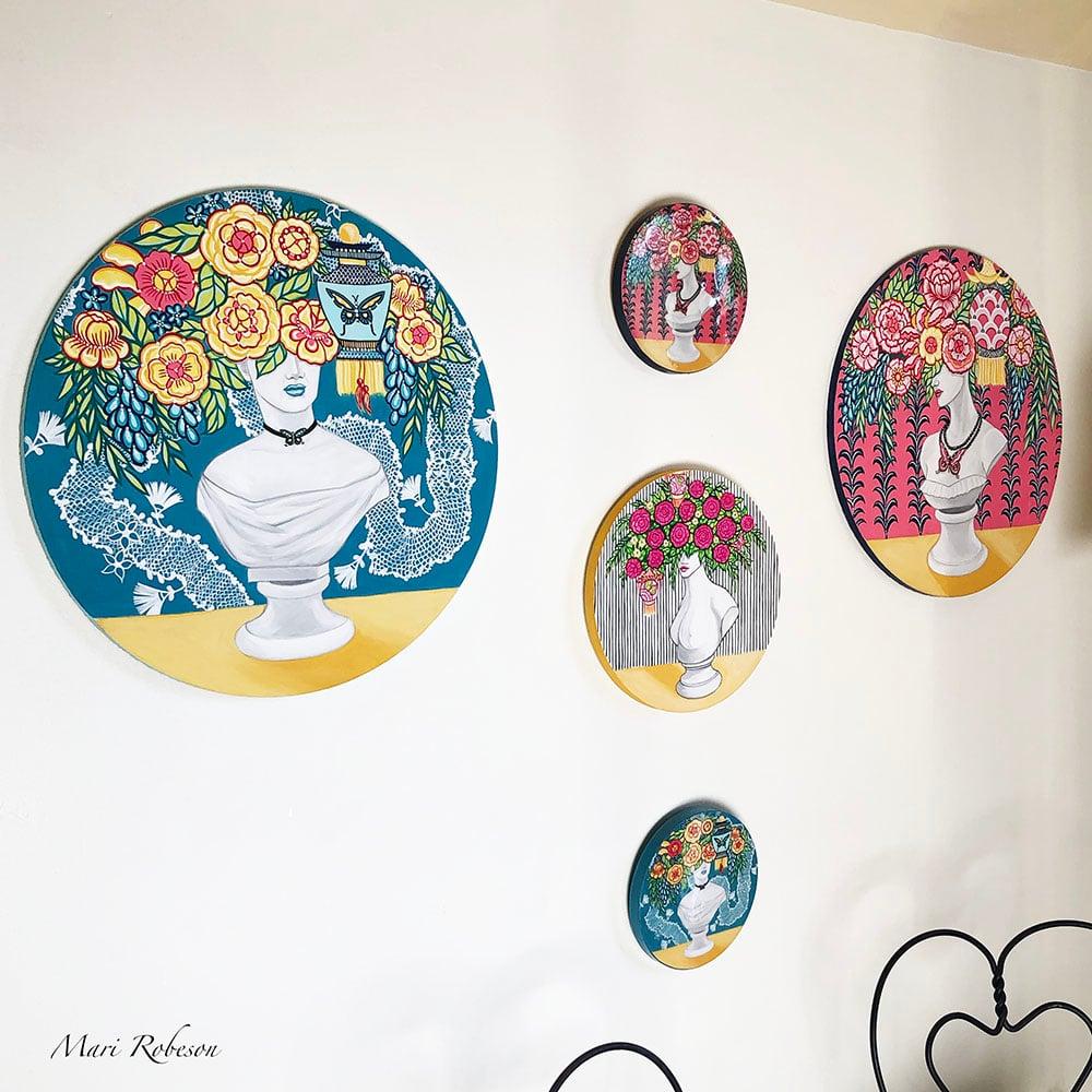 Image of Halena - Resin Art Plaque