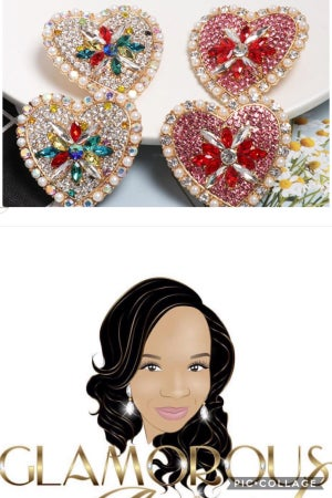 Image of Happy Heart earrings