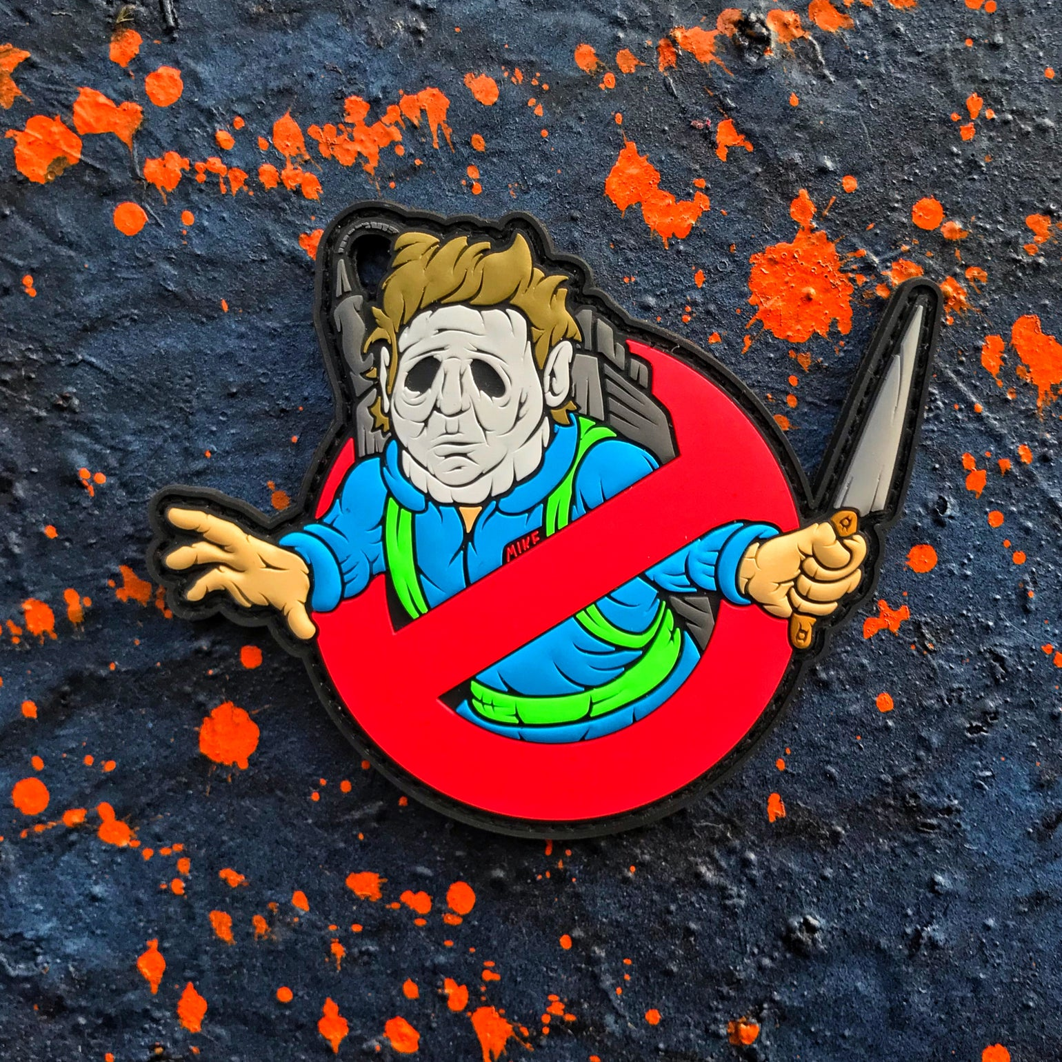 Image of Ghostmaker Mikey patch