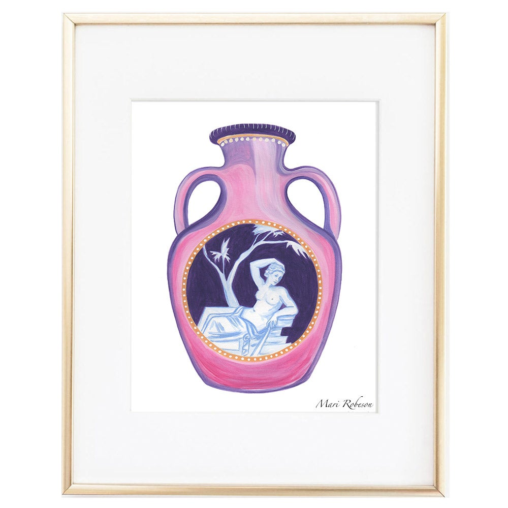 Image of Vase in Pink