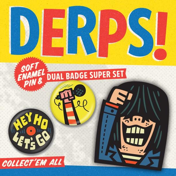 Image of LET'S GO /  DERPS! Super Set!