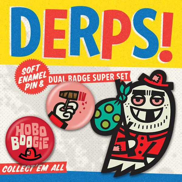 Image of HOBO BOOGIE / DERPS! Super Set!