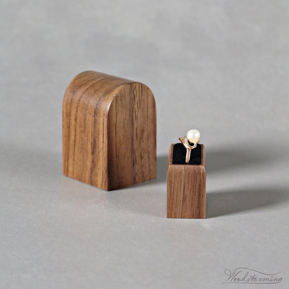 Image of Ring box - original Woodstorming design ring holder