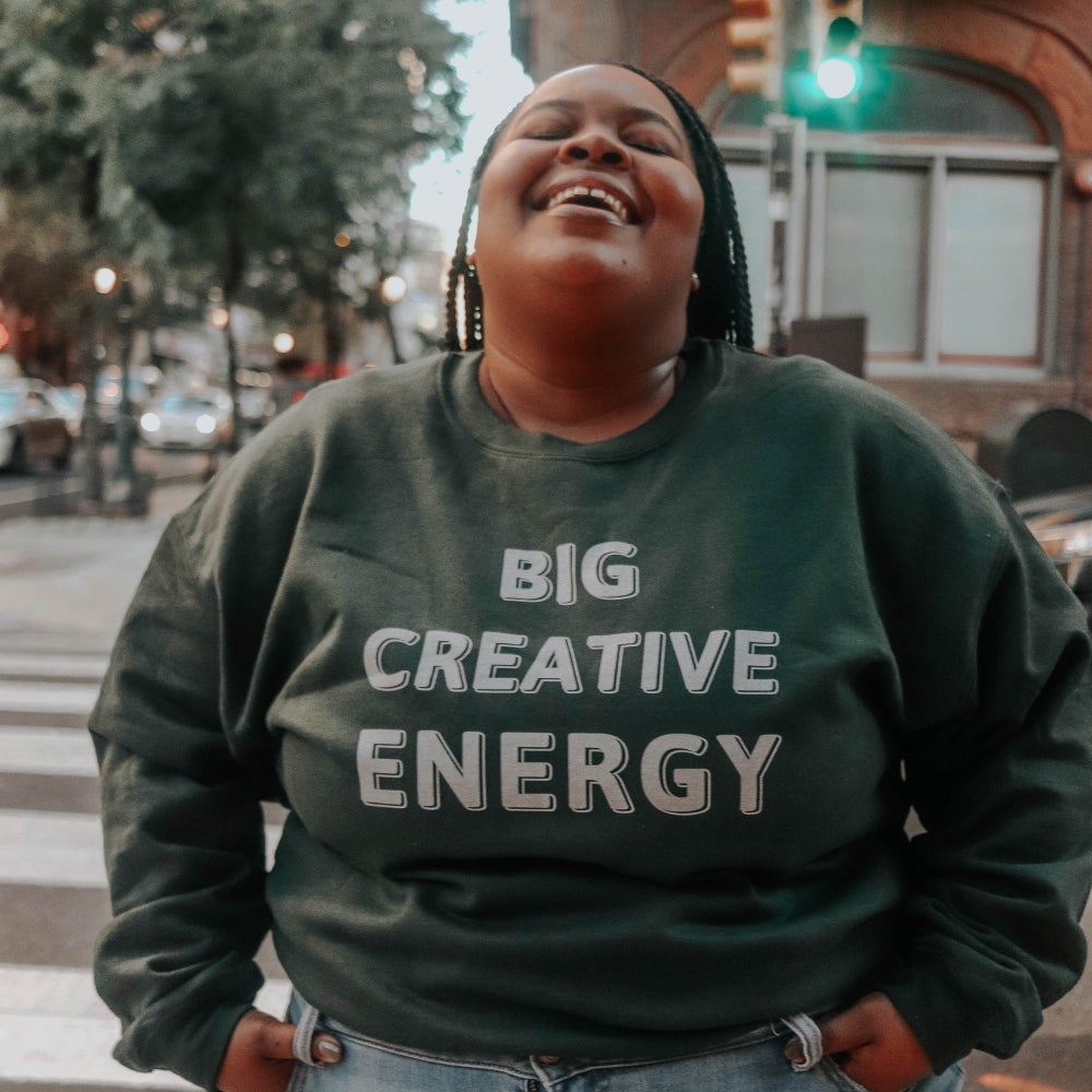 Image of Big Creative Energy Crewneck
