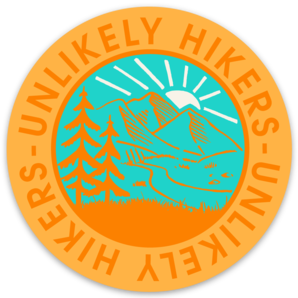 Image of NEW! Sticker ORANGE Round Logo