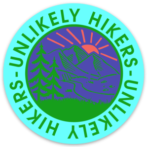 Image of NEW! Sticker PSYCHEDELIC Round Logo