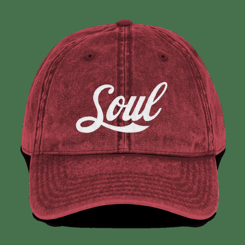 Image of Soul Red Denim Hat