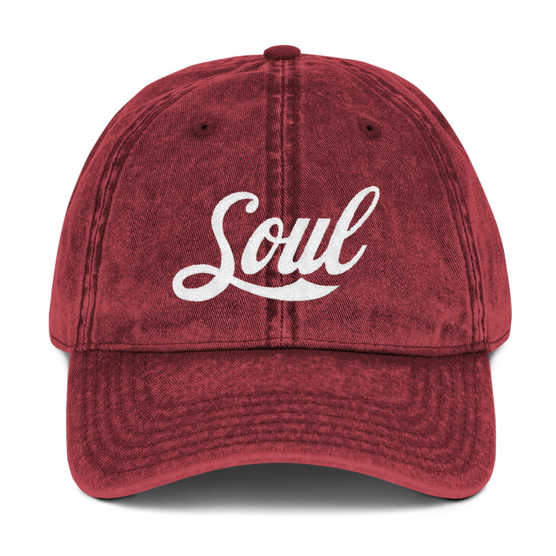 Image of Soul Red Denim Hat