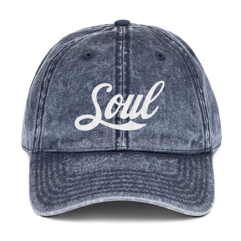 Image of Soul blue denim Dad Hat