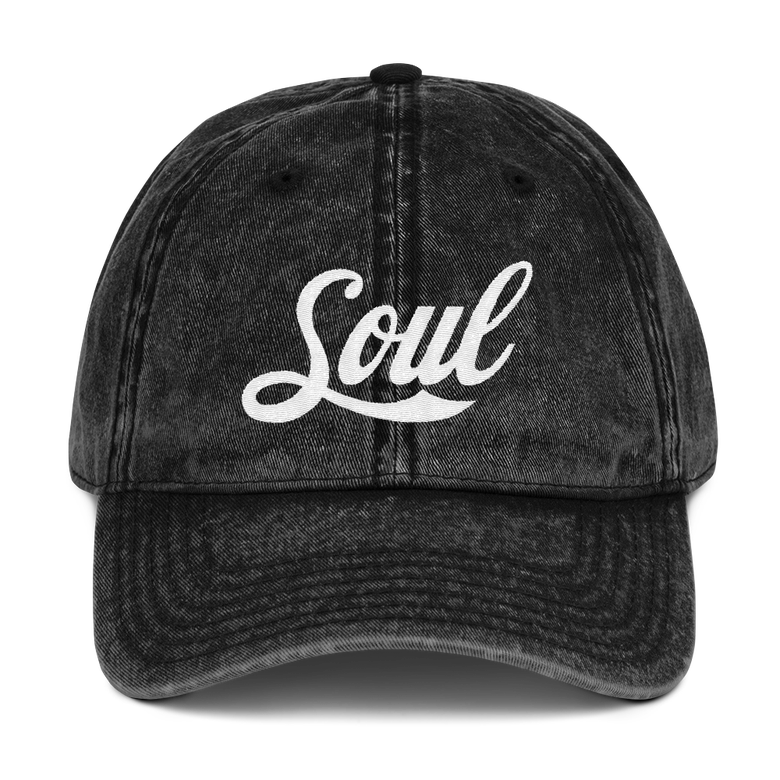 Image of Soul Black Denim hat