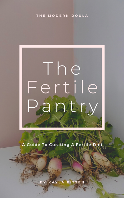 Image of The Fertile Pantry: A Quick Guide To Curating A Fertile Life, 2nd Edition.