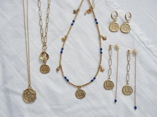 Image of Collier Médaille Fès 6coloris