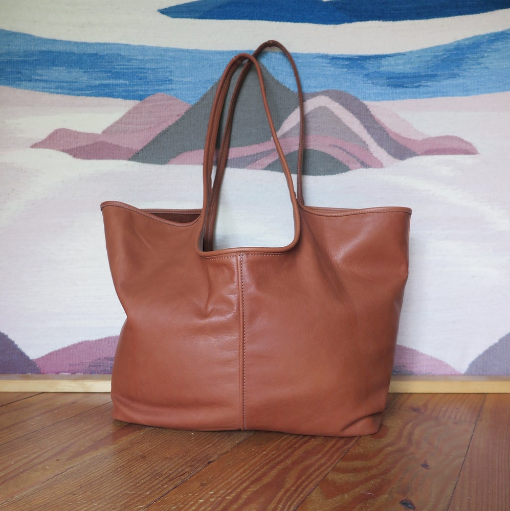 Image of Morgan Tote BRITISH TAN