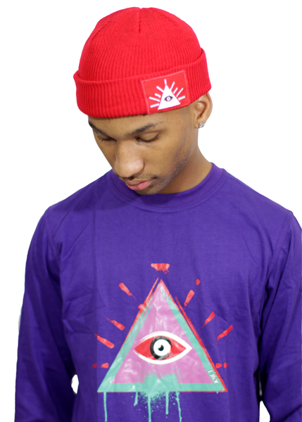 Image of LIFER GRAFITTI LS TEE (PURP)
