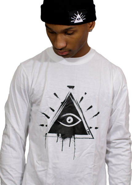 Image of LIFER GRAFFITI LS TEE (WHITE)
