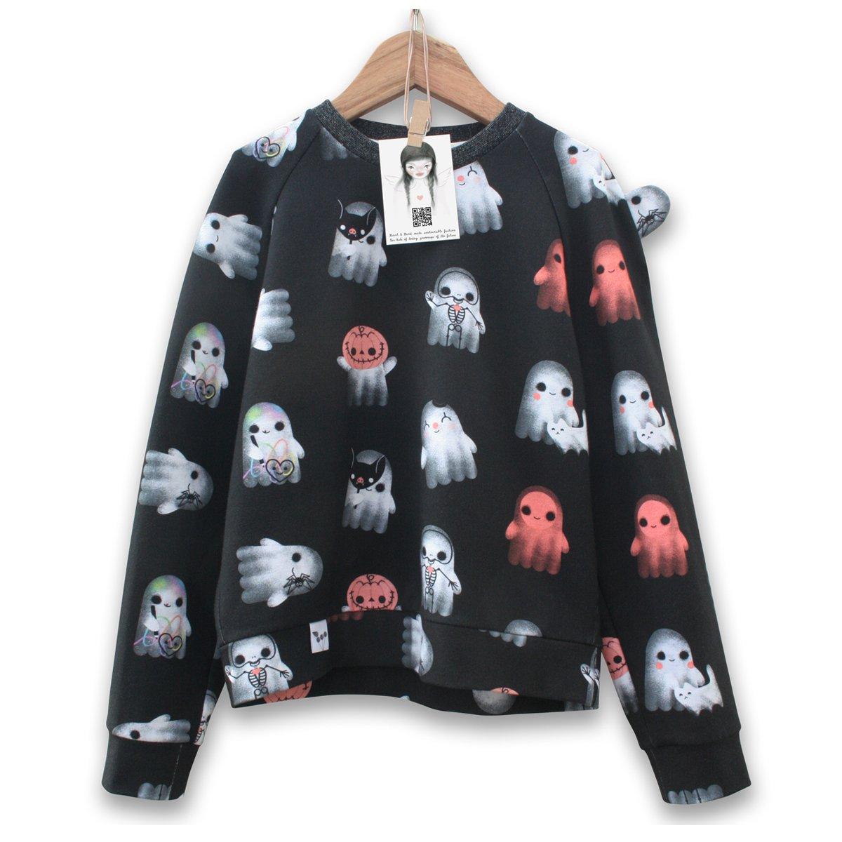 Image of Lill' Ghosts unisex kids sweatshirt