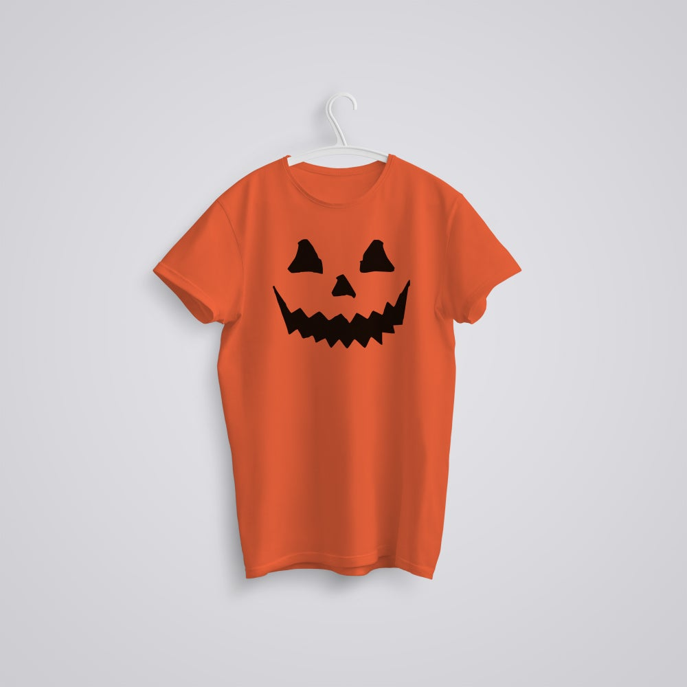 Image of Halloween Pumpkin Face T-Shirt