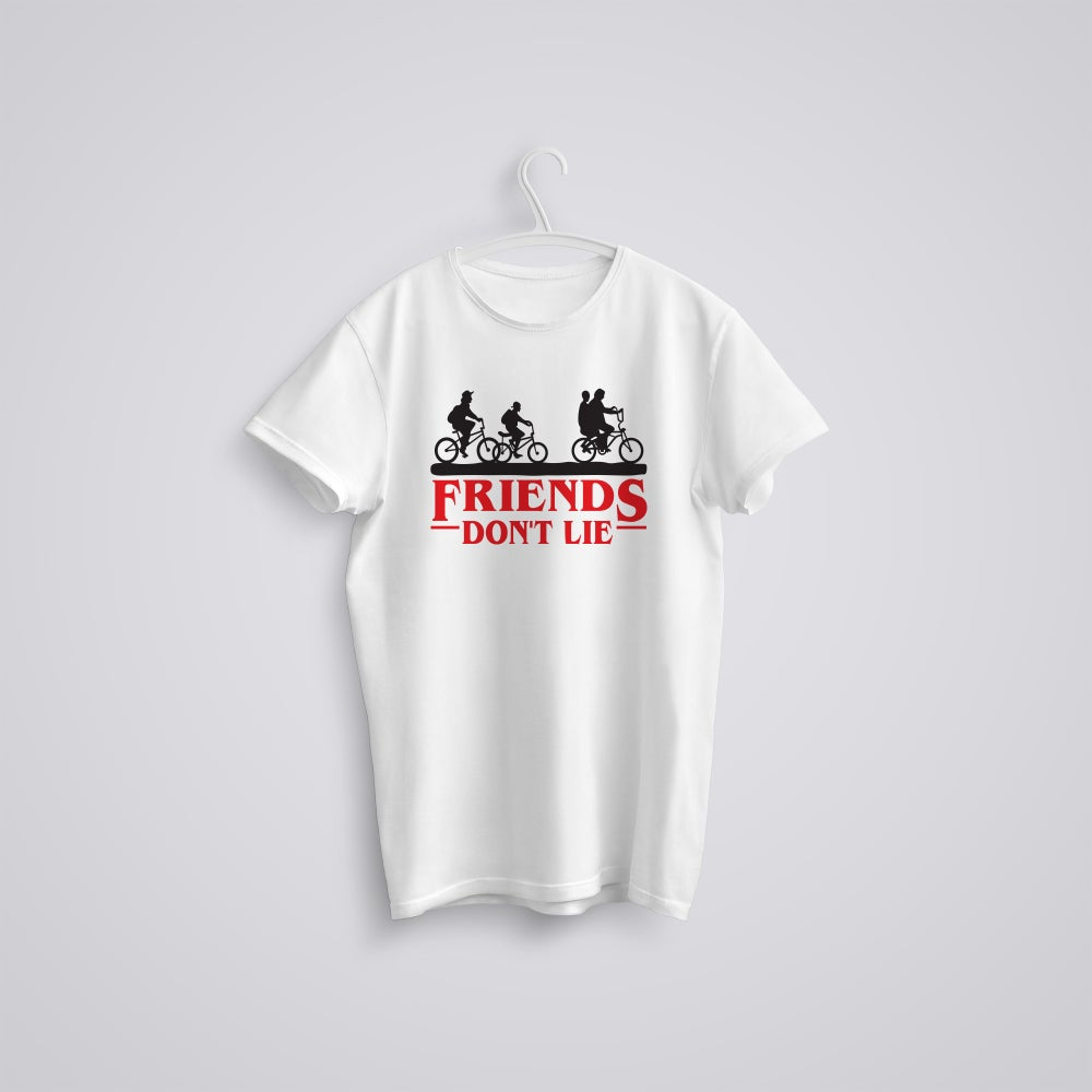Image of Friends Don't Lie Stranger Things T-Shirt