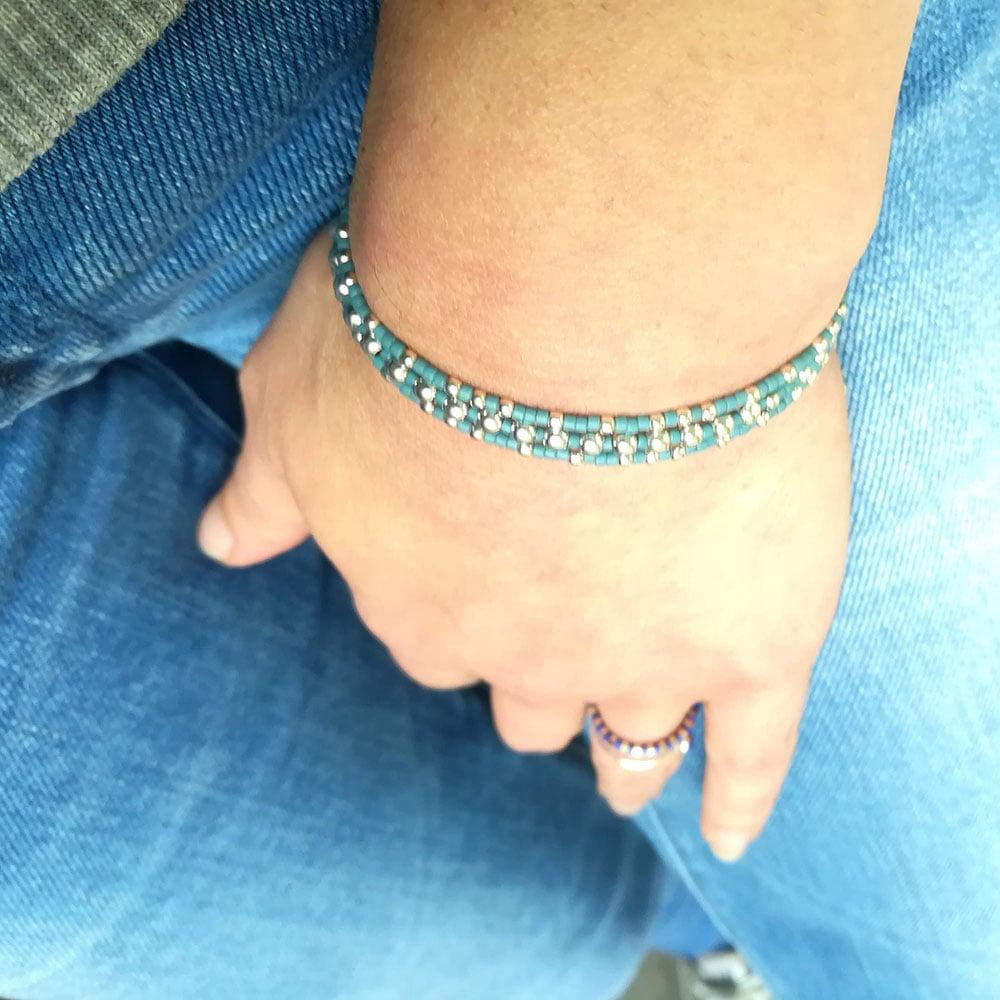"Image of Bracelet 3 tours ""Starfish"""