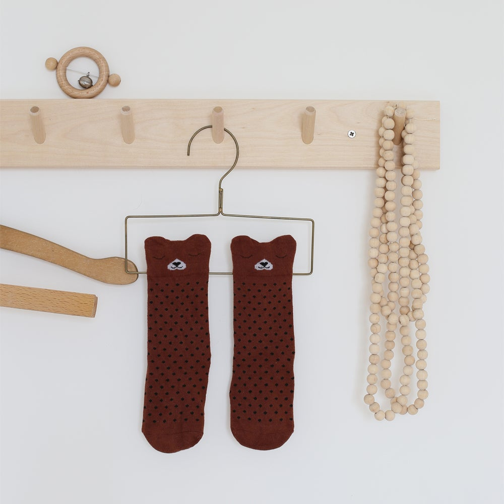 Image of Chaussettes Ours brun