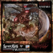 Image of WORMHOLE - The Weakest Among Us - Gold/Black vinyl