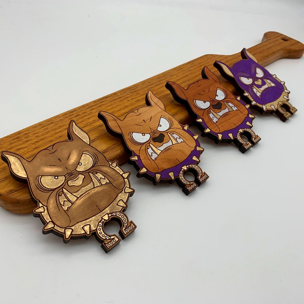 Image of Dawg of War I Tiki Necklace