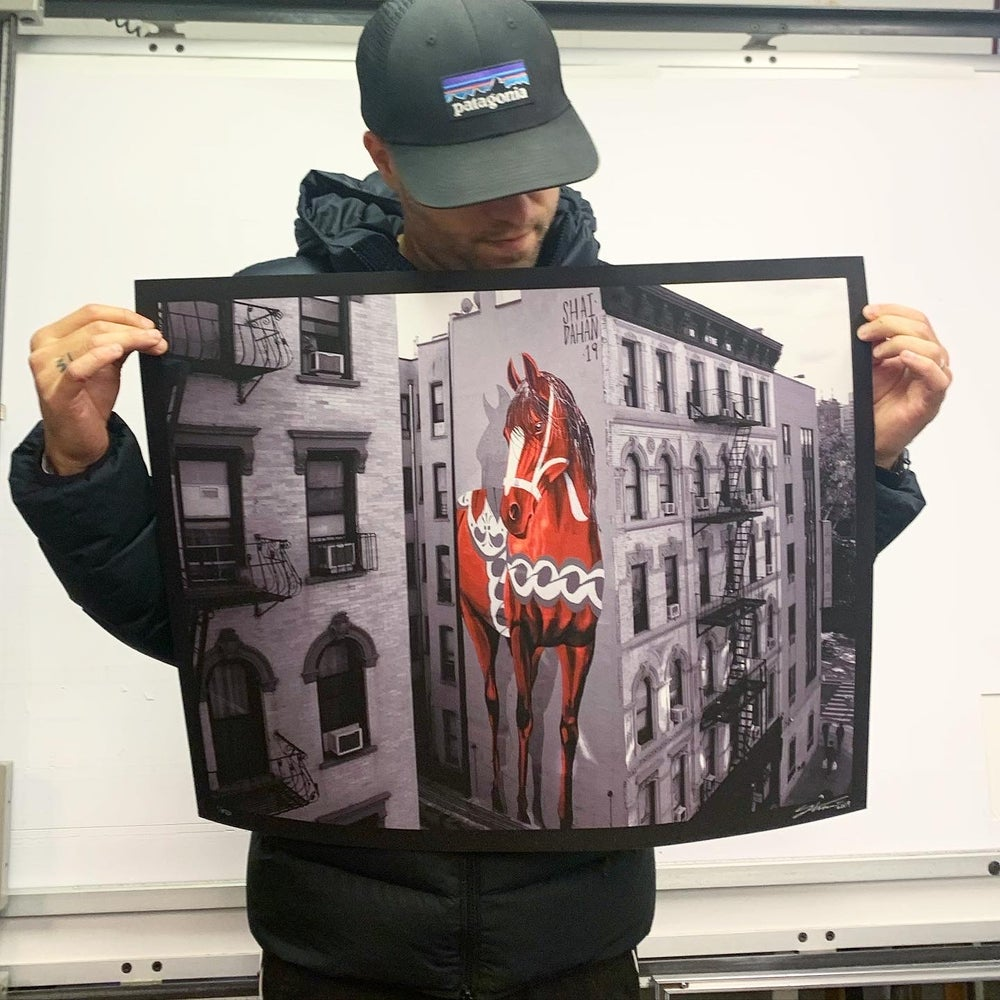 Image of The New York Giant Edition Print - BLACK