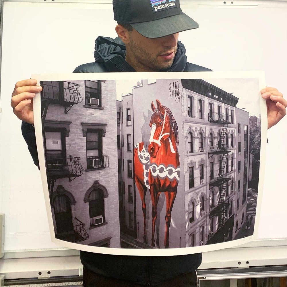 Image of The New York Giant Edition Print  - WHITE