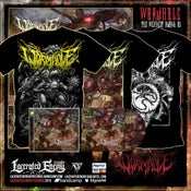 Image of Wormhole - Ultimate Shirts + CDs Bundle