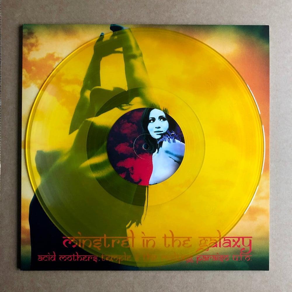 ACID MOTHERS TEMPLE 'Minstrel In The Galaxy' Yellow Vinyl LP
