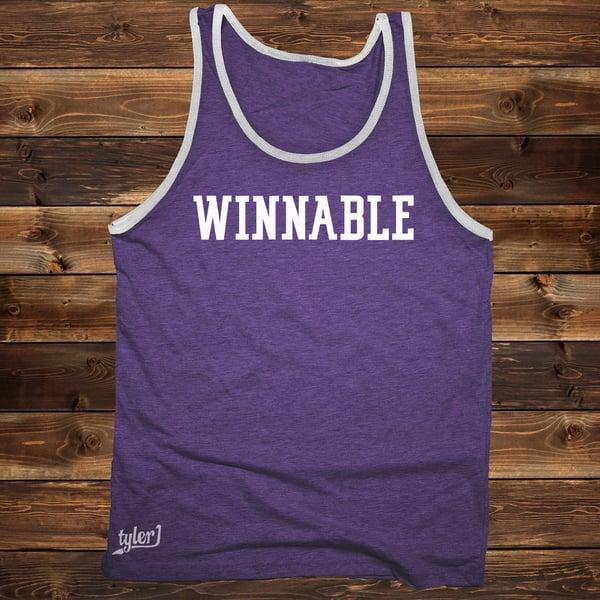 Image of Winnable Tank - Purple|Gray